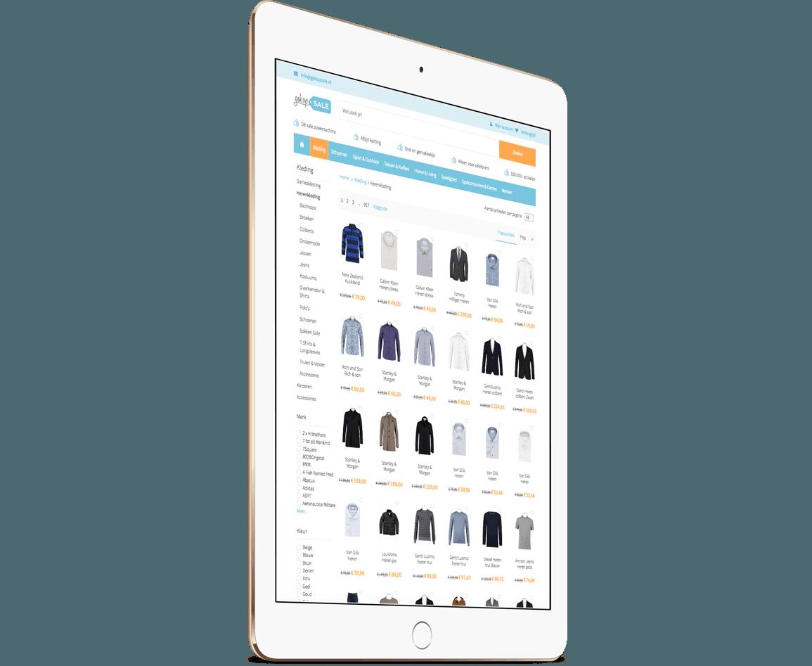iPad webshop Gek op Sale
