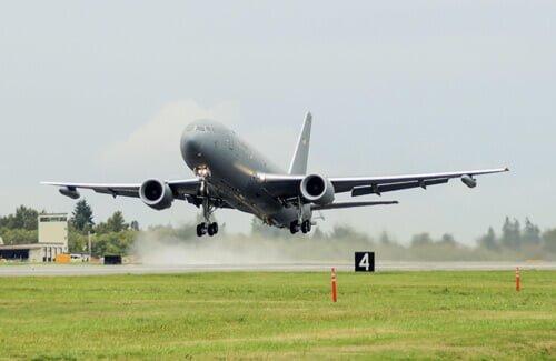 Vliegtuig RFID logistiek