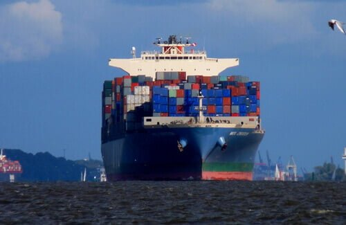 Vrachtschip RFID logistiek