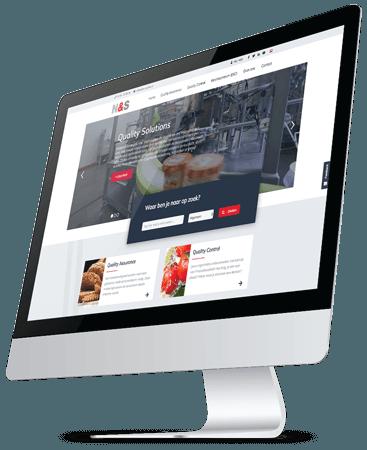 NS Quality homepage