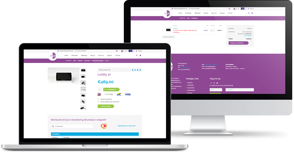 Van Lent Systems webshop
