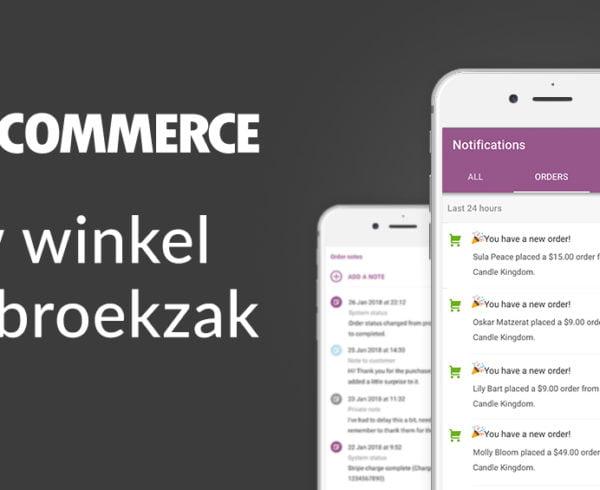 Nieuwe WooCommerce app