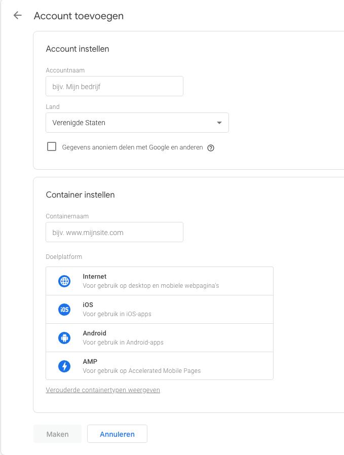 Account-aanmaken-GTM